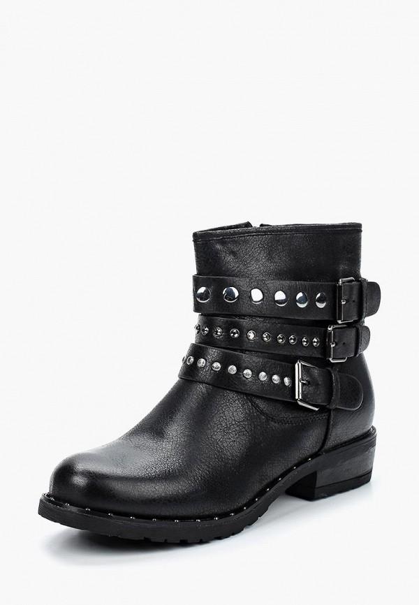 Фото 6 - женские ботинки и полуботинки Vera Blum черного цвета