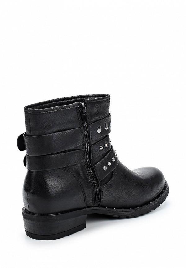 Фото 2 - женские ботинки и полуботинки Vera Blum черного цвета