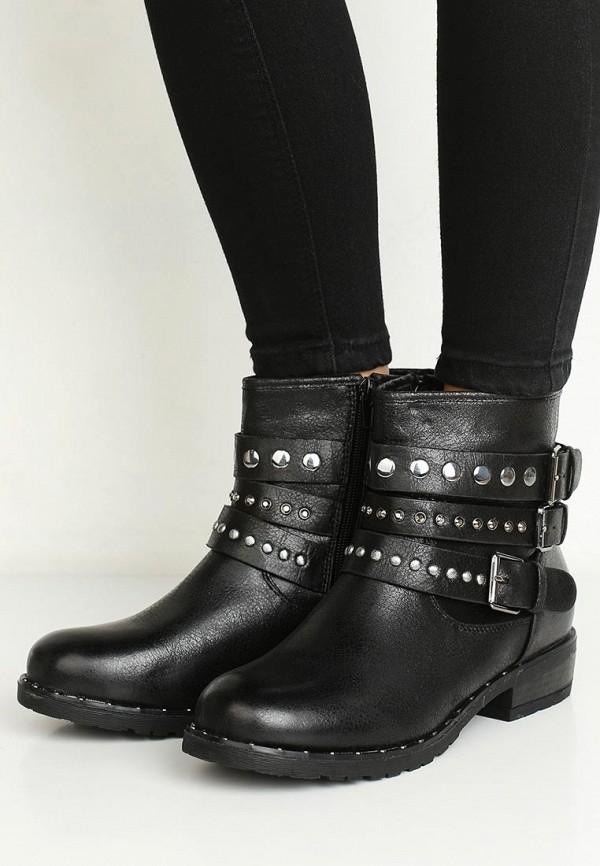 Фото 5 - женские ботинки и полуботинки Vera Blum черного цвета