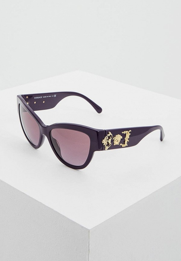 Очки солнцезащитные Versace Versace VE110DWSSX27 очки солнцезащитные versace versace ve110dwhgg40