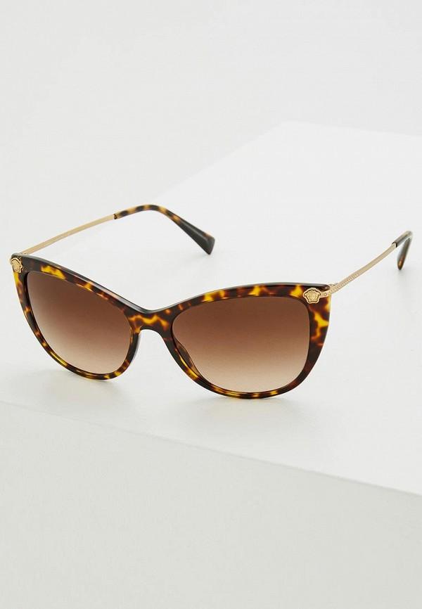 Очки солнцезащитные Versace Versace VE110DWZAY58 солнцезащитные очки versace ve 4237b