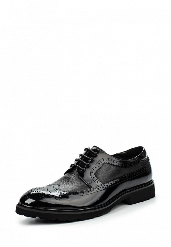 Фото - мужские туфли Vera Victoria Vito черного цвета