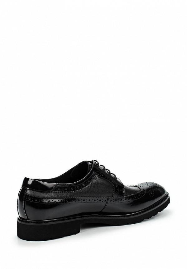 Фото 2 - мужские туфли Vera Victoria Vito черного цвета