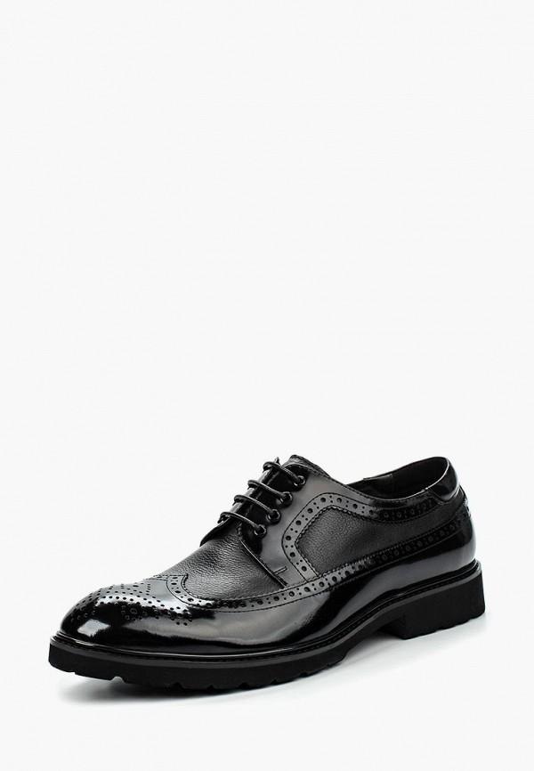 Фото 5 - мужские туфли Vera Victoria Vito черного цвета