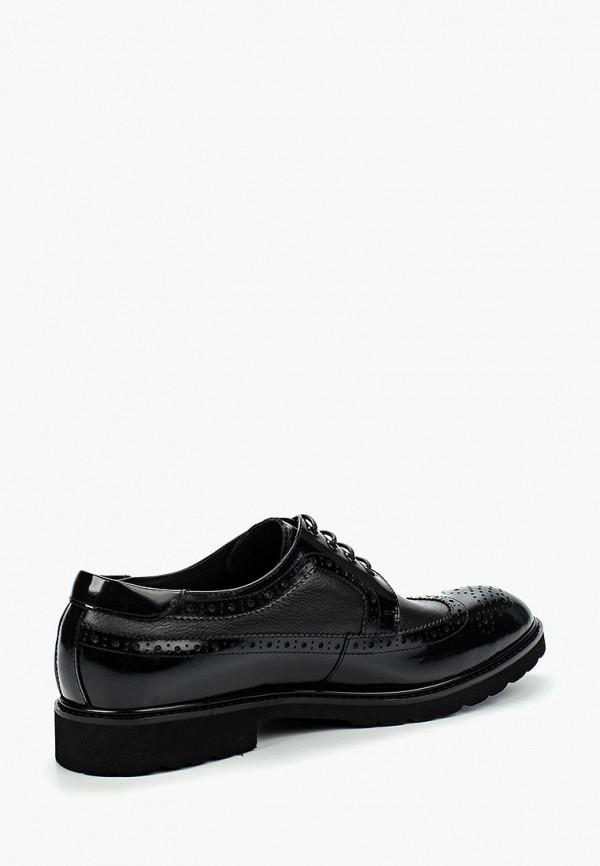 Фото 6 - мужские туфли Vera Victoria Vito черного цвета