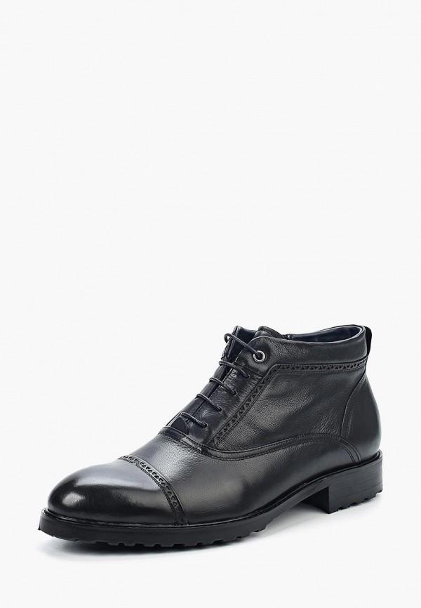 Фото - мужские ботинки и полуботинки Vera Victoria Vito черного цвета