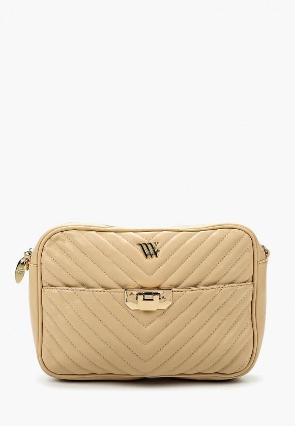 Сумка Vera Victoria Vito Vera Victoria Vito VE176BWIIO74 сумка женская zemsa цвет бежевый белый 102 176