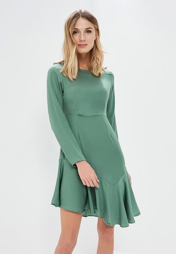 Купить Платье Vero Moda, VE389EWAFUP4, зеленый, Весна-лето 2018