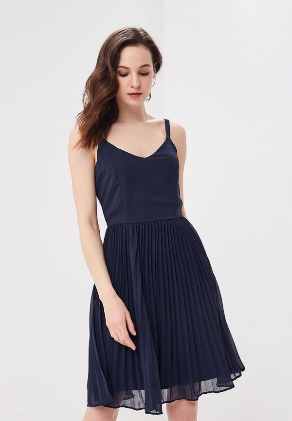 Купить Платье Vero Moda, VE389EWAFUS5, синий, Весна-лето 2018