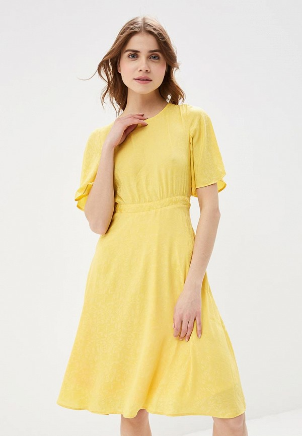 Купить Платье Vero Moda, VE389EWAFUT7, желтый, Весна-лето 2018