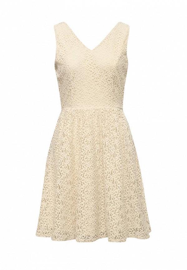 Платье Vero Moda Vero Moda VE389EWOLZ24 vero moda платье vero moda vero moda 10060918 2buy бежевый 36
