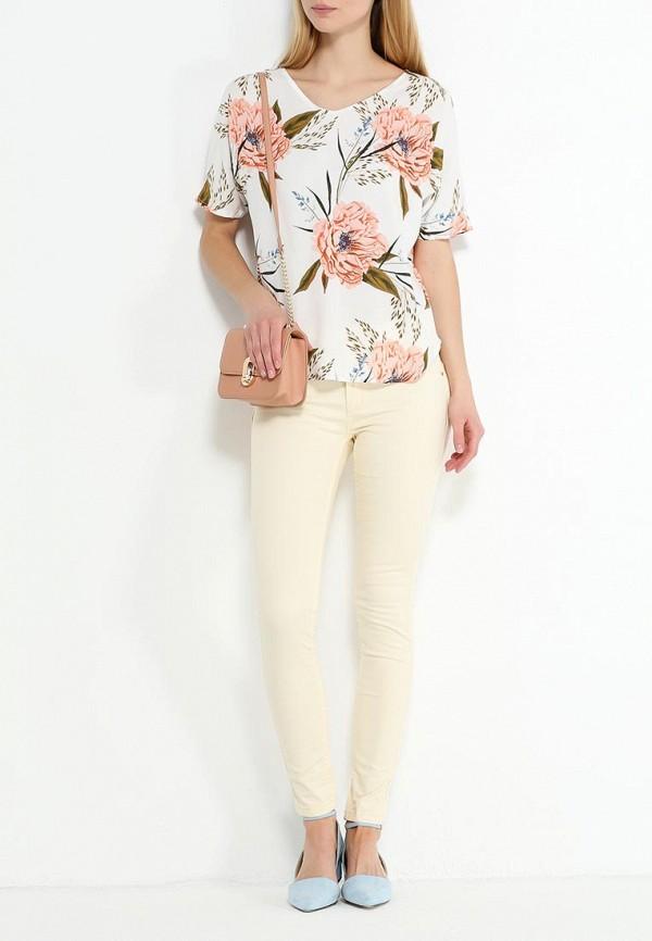 Фото 2 - женскую блузку Vero Moda белого цвета