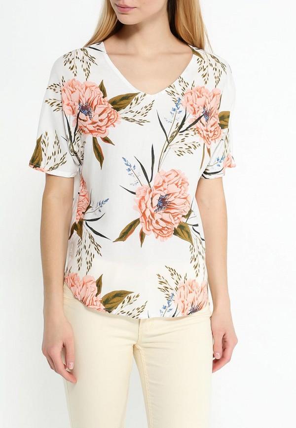 Фото 3 - женскую блузку Vero Moda белого цвета