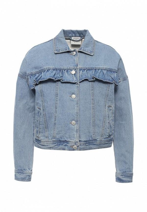 Куртка джинсовая Vero Moda Vero Moda VE389EWOMA63