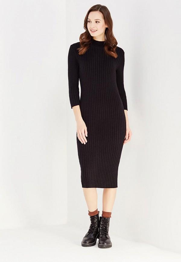 Фото 2 - женское платье Vero Moda черного цвета