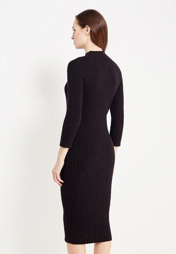 Фото 3 - женское платье Vero Moda черного цвета