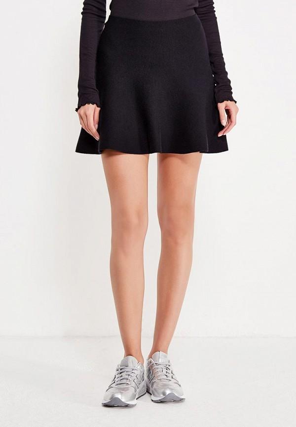Фото - женскую юбку Vero Moda черного цвета