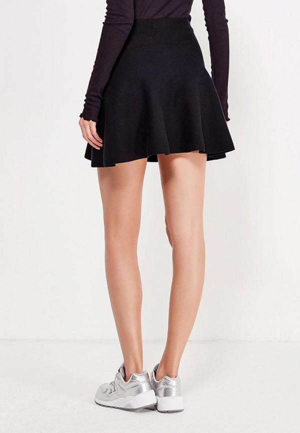 Фото 3 - женскую юбку Vero Moda черного цвета