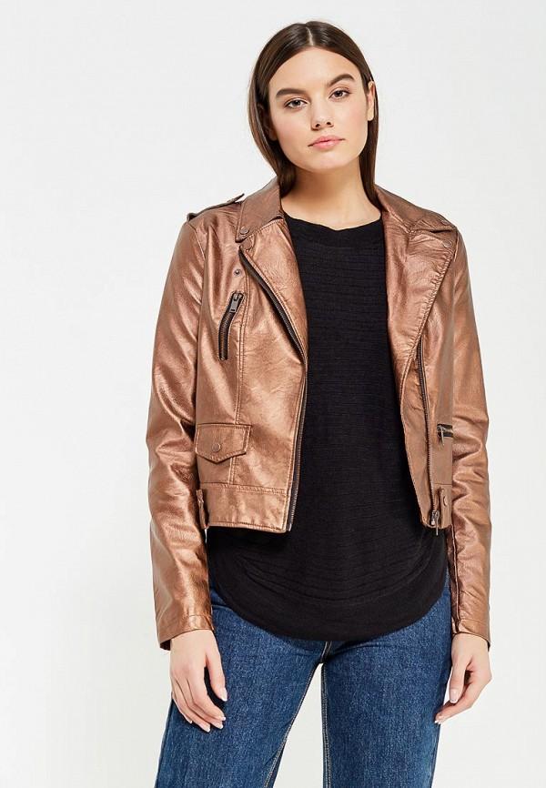 Куртка кожаная Vero Moda Vero Moda VE389EWVAK24 vero moda платье vero moda vero moda 10081252 2buy коричневый xl