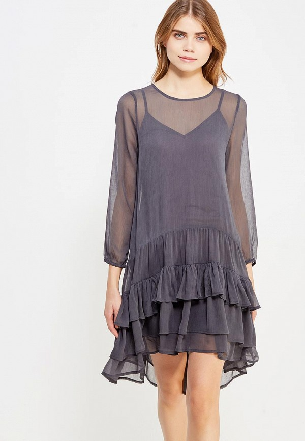 Платье Vero Moda Vero Moda VE389EWVPI45 vero moda платье vero moda vero moda eu v10081096 2buy серый 42