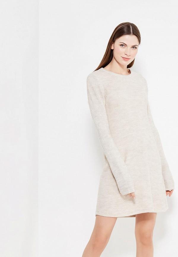 Платье Vero Moda Vero Moda VE389EWYYA77 vero moda платье vero moda vero moda 10060918 2buy бежевый 36