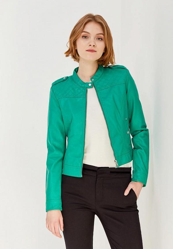 Куртка кожаная Vero Moda Vero Moda VE389EWZKS65 vero moda платье vero moda vero moda 10089101 2buy зеленый 42