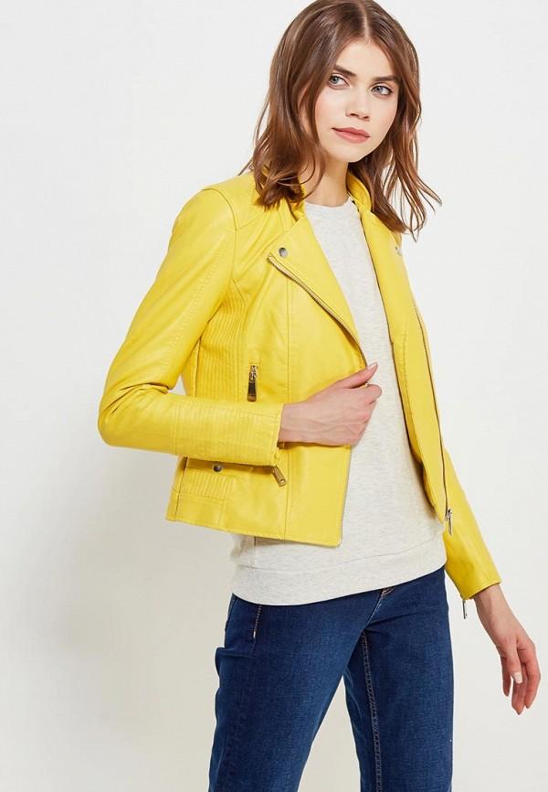 Фото Куртка кожаная Vero Moda. Купить с доставкой
