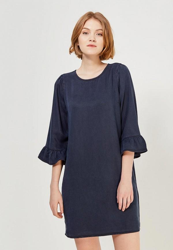 Платье Vero Moda, VE389EWZKT53, синий, Весна-лето 2018  - купить со скидкой