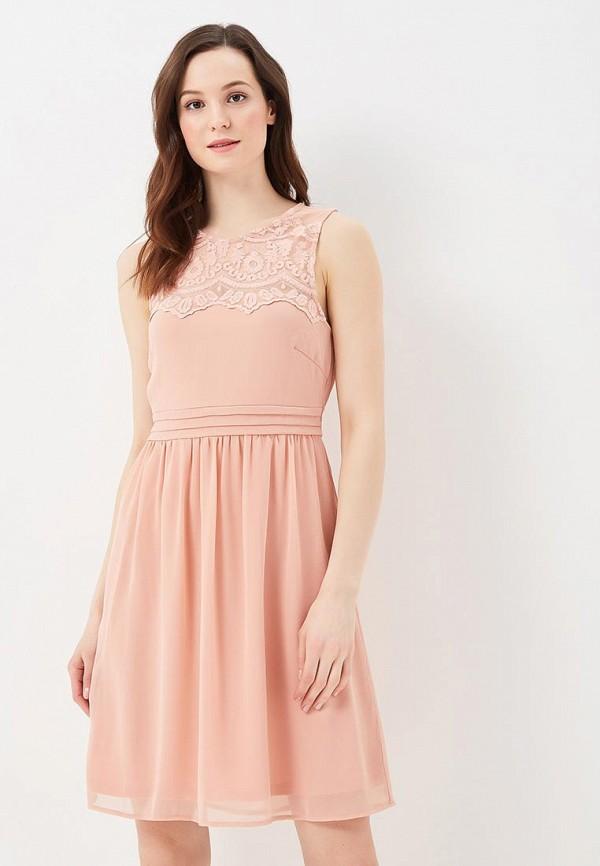 Купить Платье Vero Moda, VE389EWZKU05, розовый, Весна-лето 2018