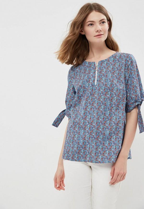 Купить Блуза Vis-a-Vis, VI003EWAZYL7, голубой, Весна-лето 2018