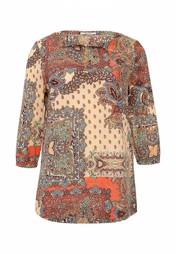Оранжевая блузка Vis-a-vis