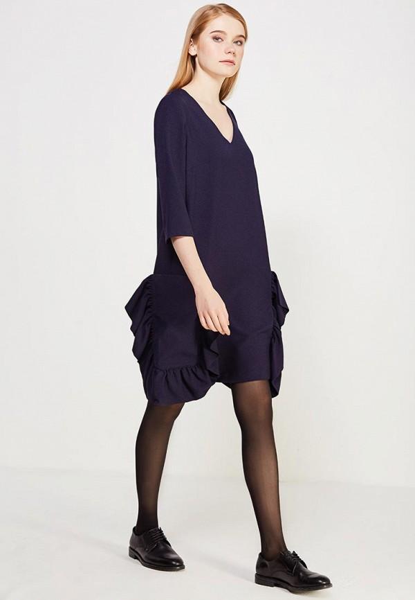Фото 2 - женское платье Vis-a-Vis синего цвета