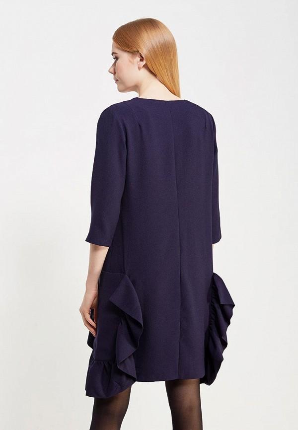 Фото 3 - женское платье Vis-a-Vis синего цвета