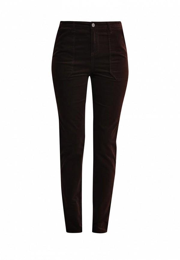 Купить женские брюки Vila коричневого цвета