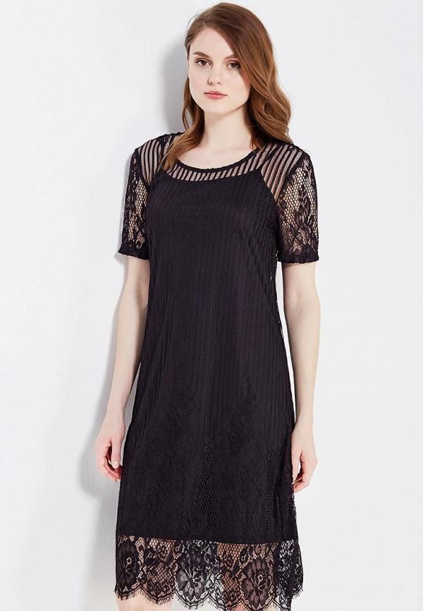 Фото - женское платье Vila черного цвета