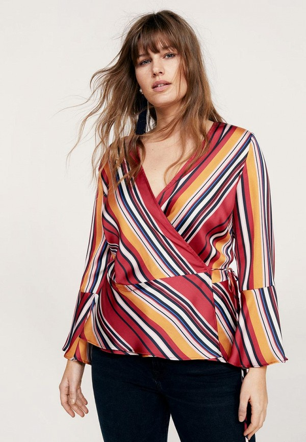 Блуза Violeta by Mango Violeta by Mango VI005EWAQWR4 платье violeta by mango violeta by mango vi005ewycx30