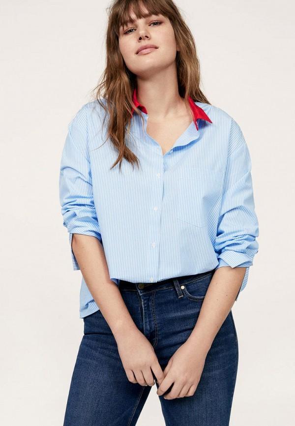 Рубашка Violeta by Mango Violeta by Mango VI005EWBEFY8 рубашка mango mango ma002ewymn23
