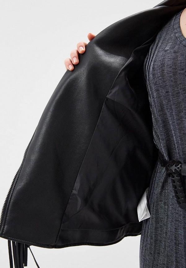 Фото Куртка кожаная Violeta by Mango. Купить с доставкой