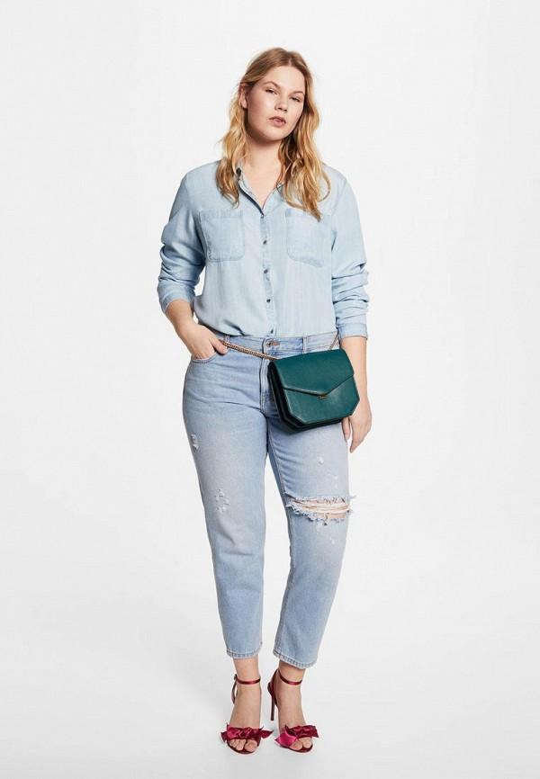 403674e5 Купить Женские рубашки цвет Голубой в каталоге интернет магазина ...