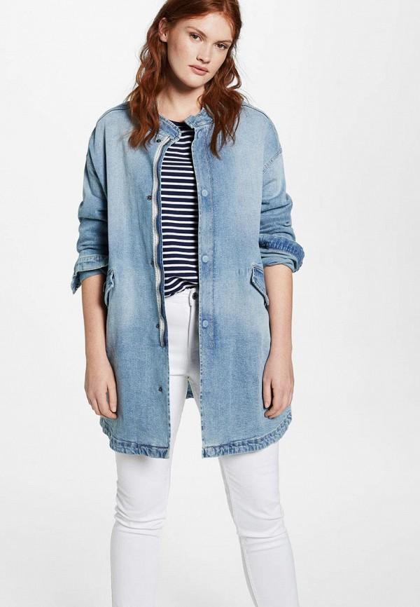 Фото Куртка джинсовая Violeta by Mango. Купить с доставкой