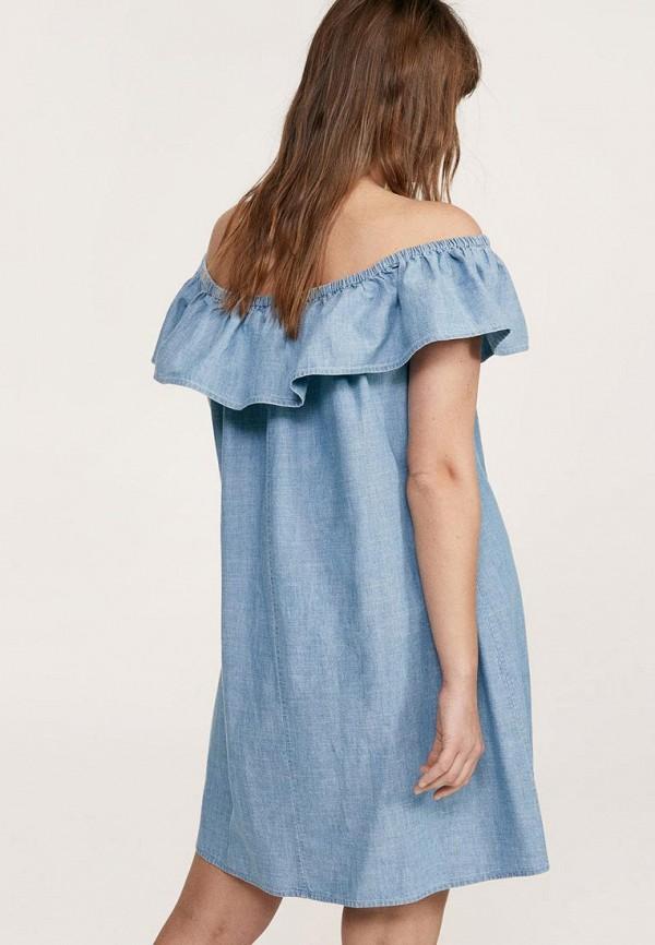 Фото Платье джинсовое Violeta by Mango. Купить с доставкой