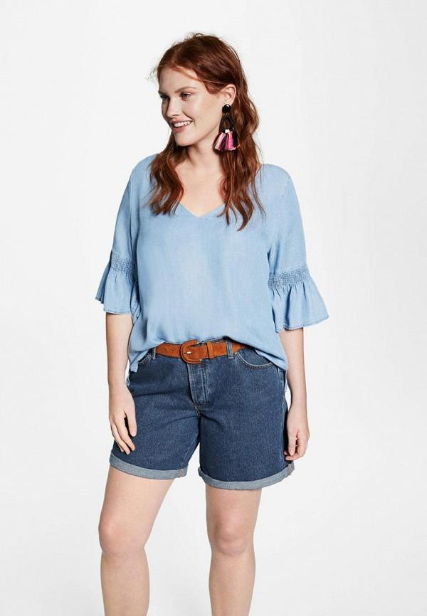 Фото Шорты джинсовые Violeta by Mango. Купить с доставкой