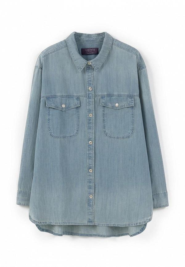 Рубашка джинсовая Violeta by Mango - FOXY