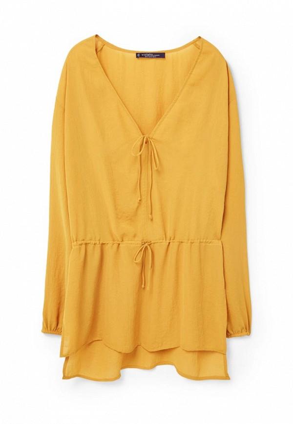 Блуза Violeta by Mango - CRINKLE