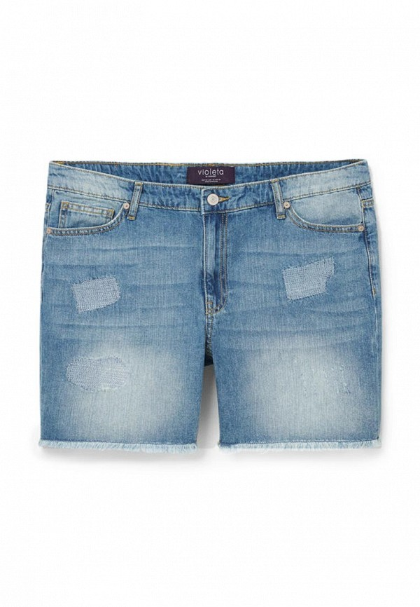 Шорты джинсовые Violeta by Mango - ROSA