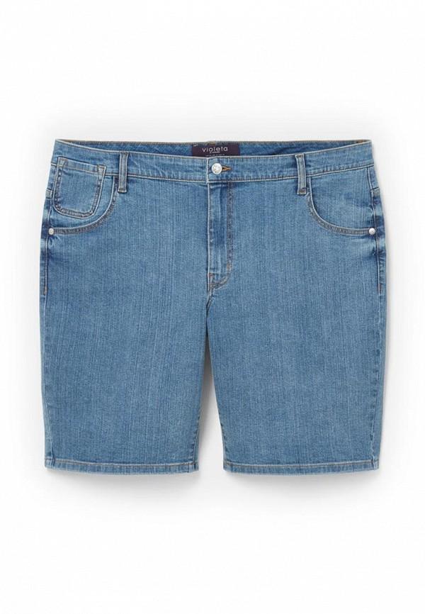 Женские джинсовые шорты Violeta by Mango (Виолетта бай Манго) 63059013