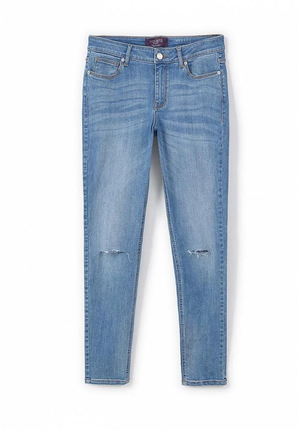 Зауженные джинсы Violeta by Mango (Виолетта бай Манго) 73060131