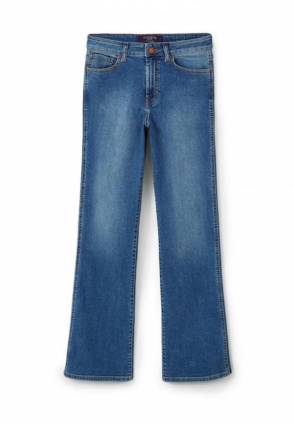 Широкие и расклешенные джинсы Violeta by Mango (Виолетта бай Манго) 73000049