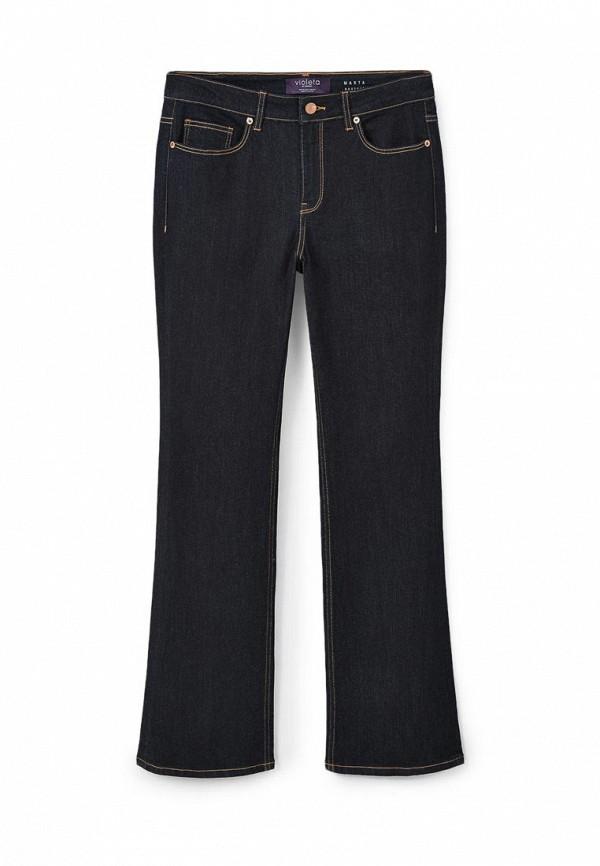 Широкие и расклешенные джинсы Violeta by Mango (Виолетта бай Манго) 73020047