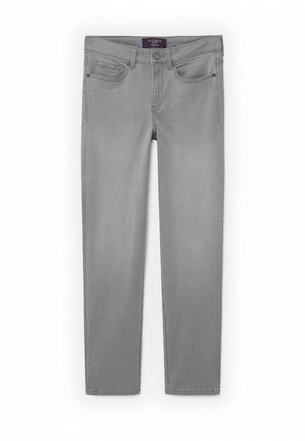 Прямые джинсы Violeta by Mango (Виолетта бай Манго) 73000065
